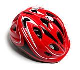 """Защитный комплект """"Роллер"""" со шлемом, красный, фото 2"""