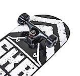 "Скейтборд ""Scale Sports"" SKB BOY Черно-белый, нагрузка до 90 кг, фото 3"