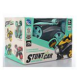 Трюковая машинка Stunt Car YT-368 (13 см) на радиоуправлении, колеса резина, фото 2