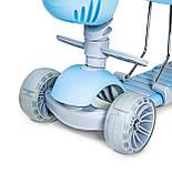 Самокат Smart 5 в 1 с бортиком Pastel Blue, фото 2