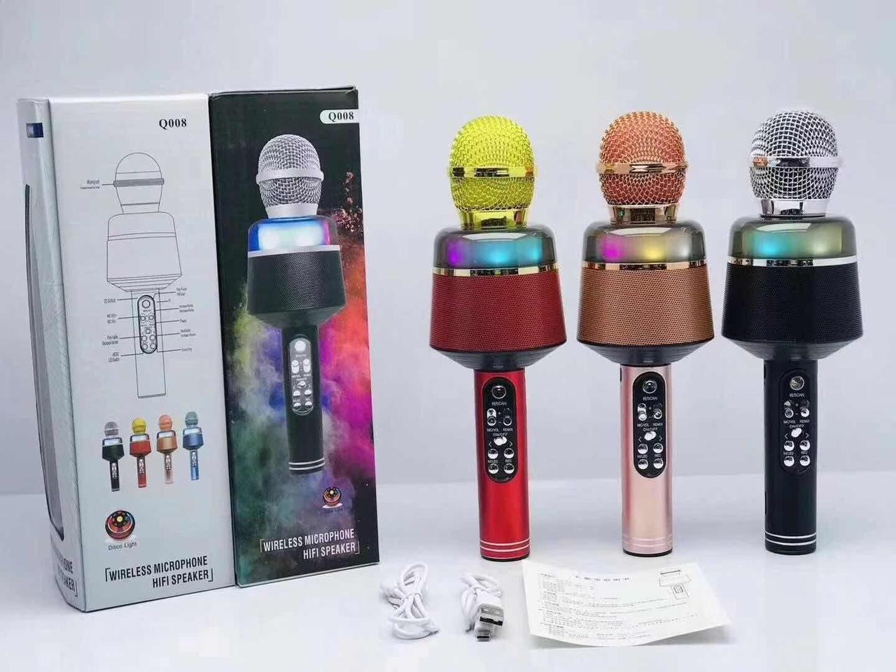 Микрофон-караоке беспроводной Q-008