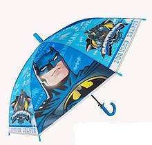 Детский зонтик-трость со свистком Бэтмен