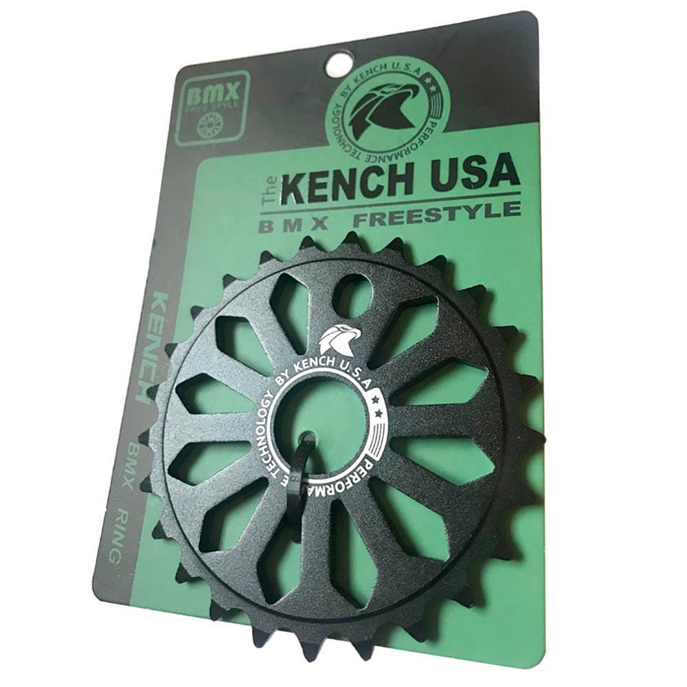 Зірка Kench 25T для BMX чорна