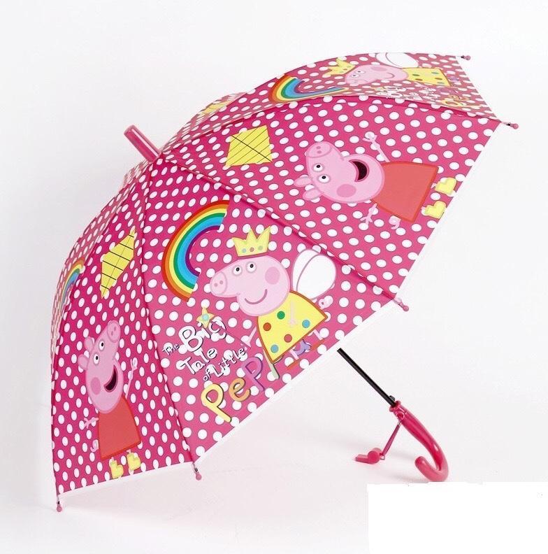 Дитячий парасольку Свинка (горошок)