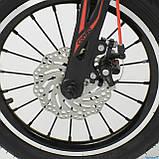 """Велосипед 16"""" дюймов 2-х колёсный """"CORSO"""" MG-16 Y 464 (1) ЧЁРНЫЙ, МАГНИЕВАЯ РАМА, АЛЮМИНИЕВЫЕ ДВОЙНЫЕ ДИСКИ, фото 2"""