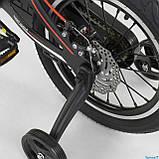 """Велосипед 16"""" дюймов 2-х колёсный """"CORSO"""" MG-16 Y 464 (1) ЧЁРНЫЙ, МАГНИЕВАЯ РАМА, АЛЮМИНИЕВЫЕ ДВОЙНЫЕ ДИСКИ, фото 5"""