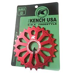 Звезда Kench KH-RN-03 25T для BMX красная