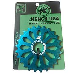 Звезда Kench KH-RN-03 25T для BMX синий