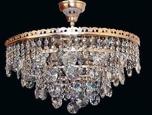 Круглая богемская потолочная хрустальная люстра Еlite Bohemia, фото 2