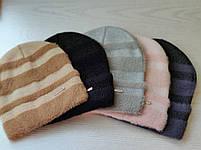 Шапка женская ангора Размер 54-56 см, фото 4