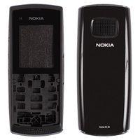 Корпус для смартфона Nokia X1-01, черный