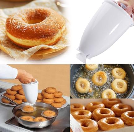 Форма-дозатор для приготування пончиків Donut Maker (KG-340)