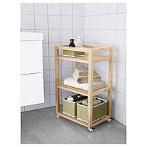 Тележки для ванных комнат