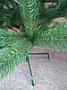 Новогодняя искусственная литая ель 2,3 метра Буковельская зеленая, фото 5