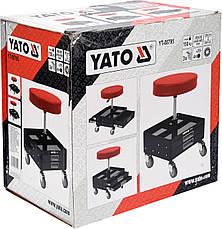Табурет для мастерской с ящиком YATO YT-08795, фото 3