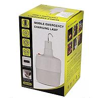 Фонарь лампа для кемпинга, отдыха подвесной на аккумуляторе YT-01 USB светильник Белый 7130