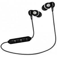 Навушники Bluetooth Crown CMBE-502 Black