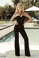 Черные брюки в классическом стиле M,L,XL, фото 1