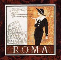 Набор для вышивки крестом Lanarte 34908 «Рим»