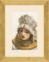 Набор для вышивки крестом Lanarte 35176 «Русская невеста»