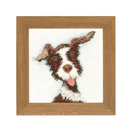 Набір для вишивки хрестом Lanarte PN-0021215 «Міні-собачки»