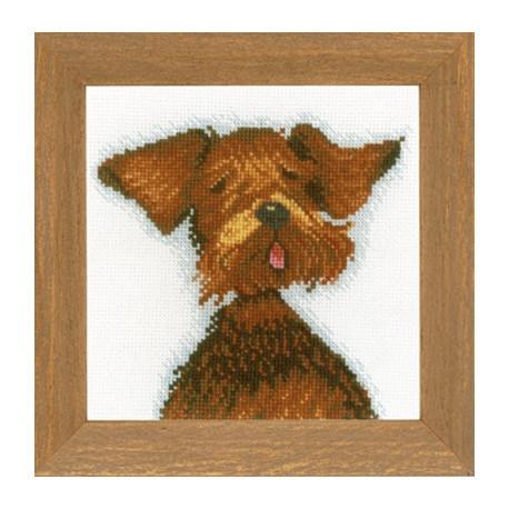 Набір для вишивки хрестом Lanarte PN-0021216 «Міні-собачки»