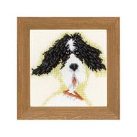 Набір для вишивки хрестом Lanarte PN-0021218 «Міні-собачки»