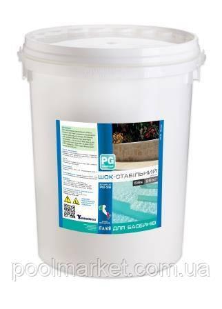 Хлор шок-стабилизированный 56% в гранулах 25кг