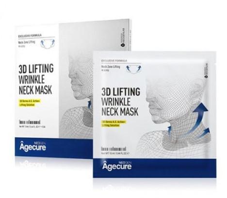 Лифтинг-маска для шеи Neogen Agecure 3D Lifting Wrinkle Neck Mask 120 г