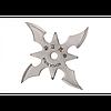 """Сюрикен (метательная звезда) четырёхконечный """"Кунг-фу"""" - изготовлен из нержавеющей стали"""