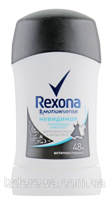 "Антиперспирант-стик ""Прозрачный кристалл"" Rexona 40мл"