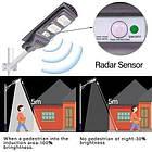 Вуличний світлодіодний світильник Led 1VPP 20W на сонячних батареях з датчиком і пультом, фото 3