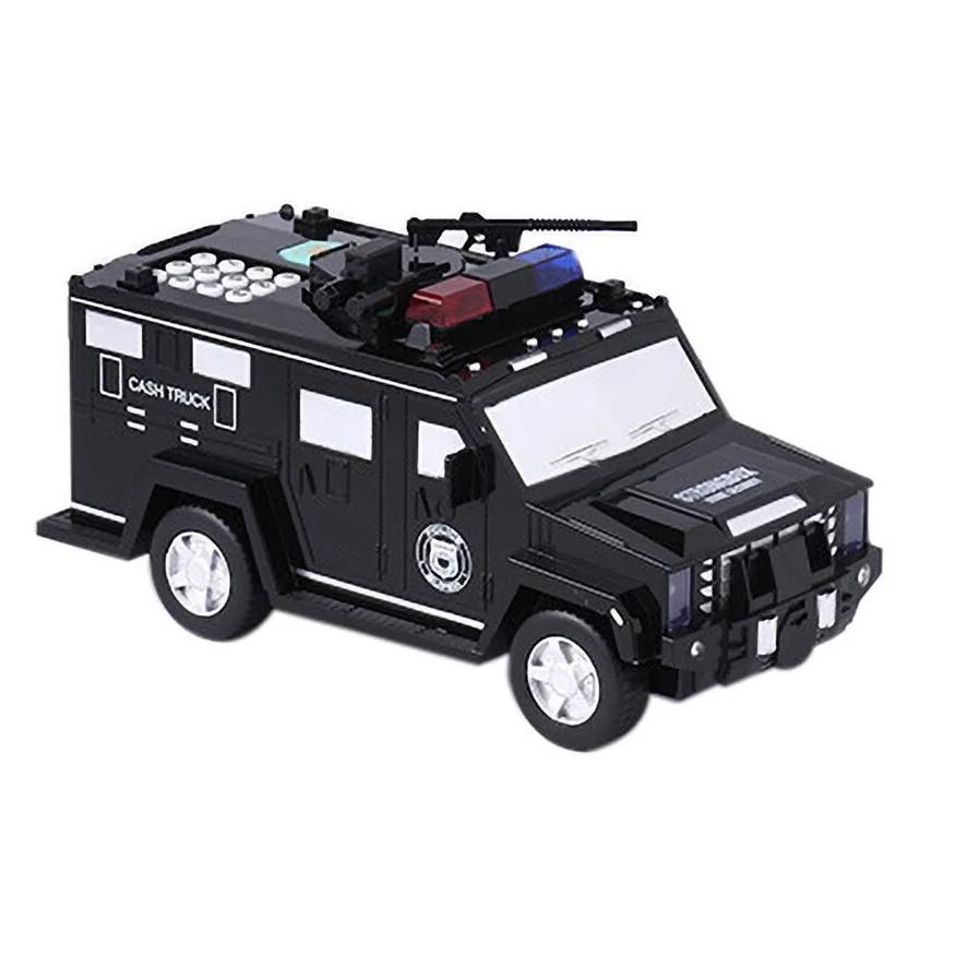 Детский сейф с кодом и отпечатком пальца в виде полицейской машины Cash Truck 510-7