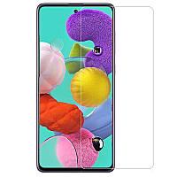 Защитное стекло для Samsung Galaxy A71 на экран прозрачное защитное стекло на самсунг а71 прозрачное