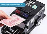 Детский сейф с кодом и отпечатком пальца в виде полицейской машины Cash Truck 510-7, фото 2