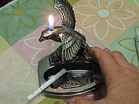 """Пепельница с зажигалкой """"Взлетающий орел"""""""