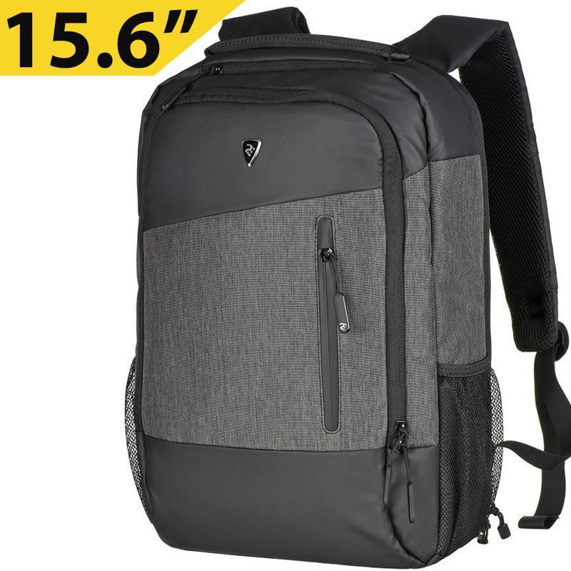 """Рюкзак для ноутбука 15.6"""" 2E Slant, темно-серый, нейлон/полиуретан, 325 x 470 x 155 мм (2E-BPN9086GB)"""