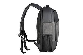 """Рюкзак для ноутбука 15.6"""" 2E Slant, темно-серый, нейлон/полиуретан, 325 x 470 x 155 мм (2E-BPN9086GB), фото 3"""