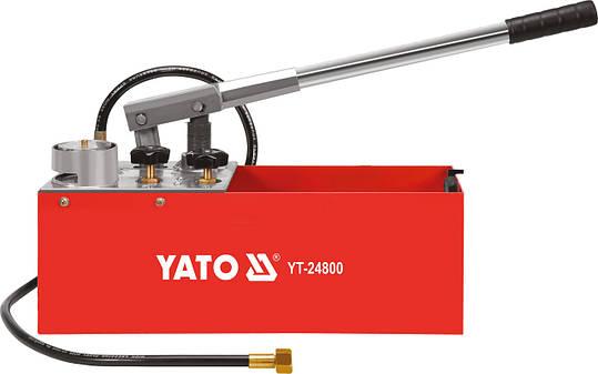 Ручной насос для опрессовки YATO YT-24800, фото 2