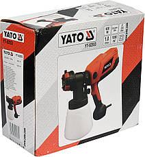 Краскопульт электрический 600 Вт YATO YT-82553, фото 3