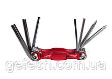 Ключи для велосипеда велосипедный ключ 7 в 1 шестигранник мультитул
