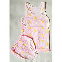 Комплект белья для девочки Облако на рост 122-128 см - Кулир