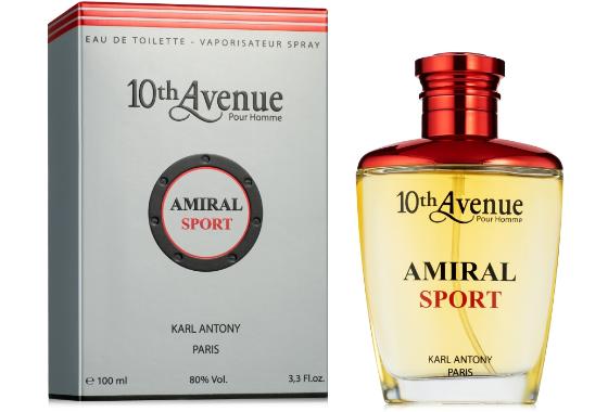 Karl Antony 10th Avenue Amiral Sport Туалетная вода мужская, 100 мл