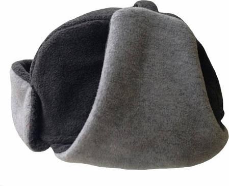 Зимняя шапка ушанка Tramp TRCA-005-S/M Gray, фото 2
