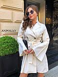 Двубортное платье пиджак с расклешенной юбкой и рукавами в едином размере 42-44 17031571, фото 4
