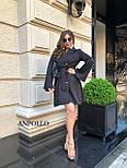 Двубортное платье пиджак с расклешенной юбкой и рукавами в едином размере 42-44 17031571, фото 7