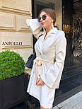 Двубортное платье пиджак с расклешенной юбкой и рукавами в едином размере 42-44 17031571, фото 8
