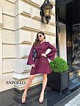 Двубортное платье пиджак с расклешенной юбкой и рукавами в едином размере 42-44 17031571, фото 9