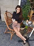 Женская асимметричная юбка выше колена с имитацией запаха, р. 42, 44, 46 4511425, фото 2