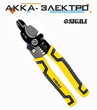 Знімач ізоляції Sigma багатофункціональний + кабелерез + плоскогубці 195 мм (4371461)